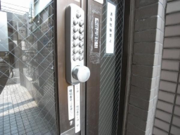 玄関オートロック